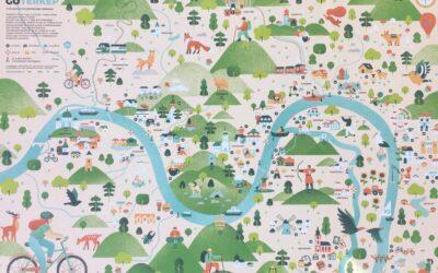 Megjelent a Dunakanyar fenntarthatósági kalauza a KanyarGO Térkép