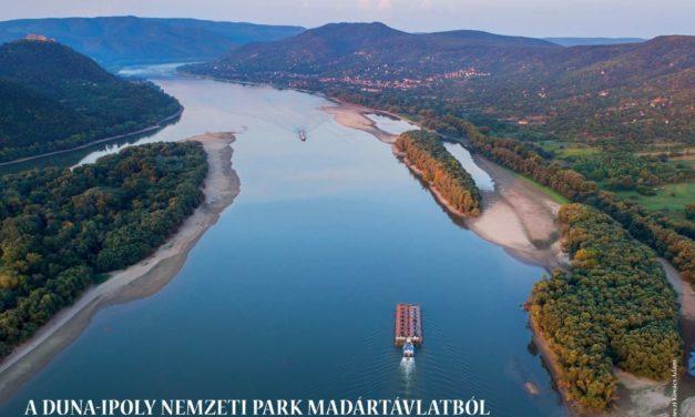 A Duna-Ipoly Nemzeti Park madártávlatból – Selmeczi Kovács Ádám fantasztikus légi fotóival