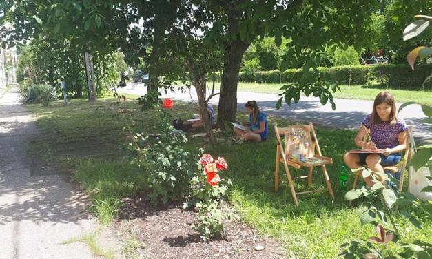 Kisoroszi festőtábor