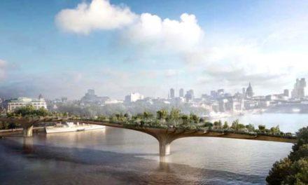 Garden Bridge, zöld gyaloghidat terveznek építeni Londonban