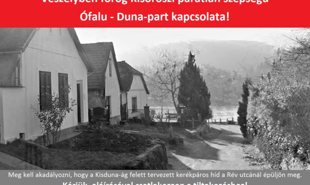 Aláírásgyűjtés kezdődött Kisorosziban