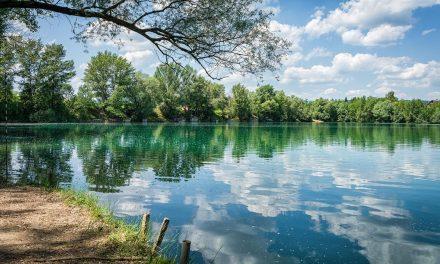 Cseres tó, a Kisoroszi bányató