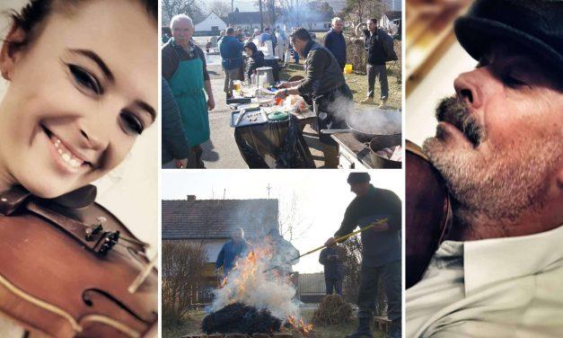 Hagyományőrző disznóvágás Kisorosziban