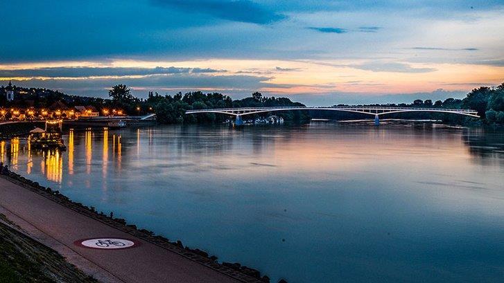 Szentendrei híd terv