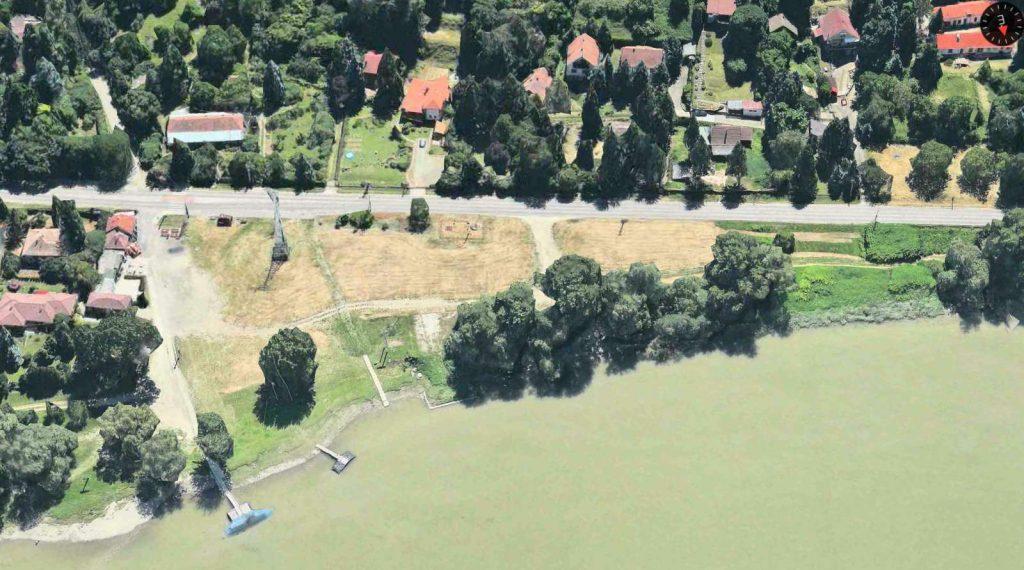 Visegrád-Szentgyörgypuszta, tervezett gépkocsi parkoló helyszíne