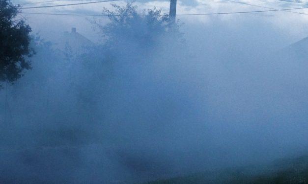 Szőnyegbombázás a szúnyogok ellen, 0.1%-os hatékonysággal